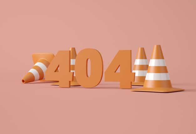 Błąd 404 not found — o co chodzi