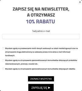 10 błedów UX i UI newsletter