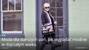 10 błędów UX i UI w modzie starszych kobiet