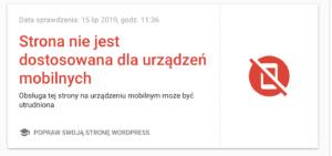 10 błędów UI i UX brak responsywności strony