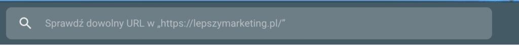Prośba o zaindeksowanie w Google Search Console