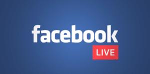 Angażujące posty na facebook - facebook live