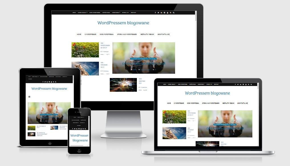 WordPress Pozycjonowanie - Wersja Responsywna strony