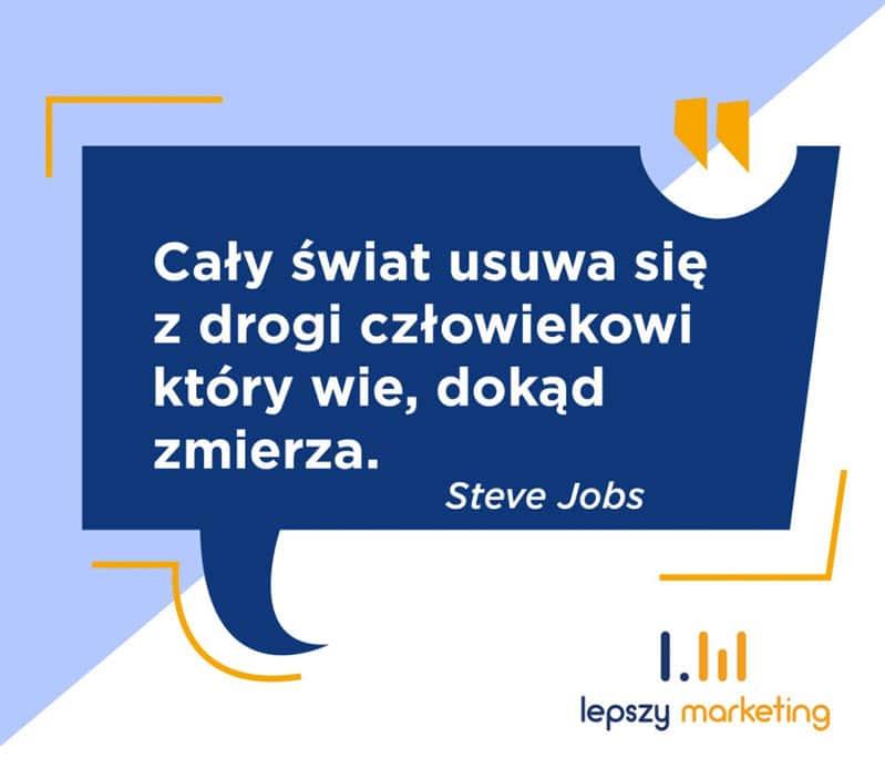 Cytat na fb - Steve Jobs