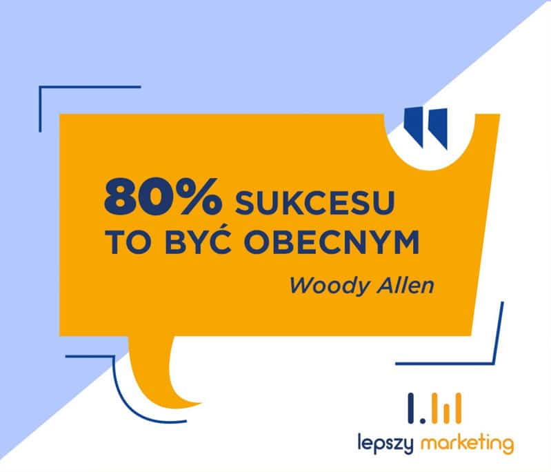 Cytat na fb - Woody Allen