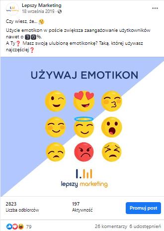 znaczenie emotek post